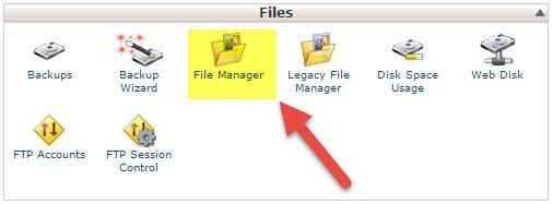 آموزش ویرایش فایل در cPanel