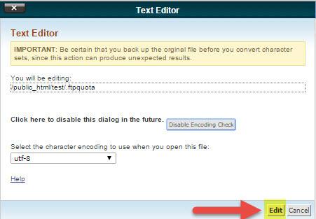 """که در صفحه ی باز شده بر روی گزینه """"Edit"""" کلیک کنید:"""